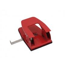Дырокол на  30 листов металл красный WM 062000105