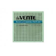 Стикер 75* 75мм 100л зеленый DeVente 2010326