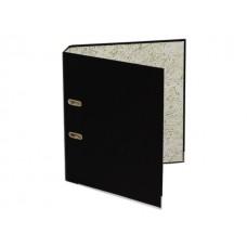 Регистратор  А4/80 WM черный с металлической окантовкой 059001001