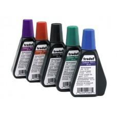 Краска штемпельная 28 мл Tr 7011 фиолетовая на водной основе