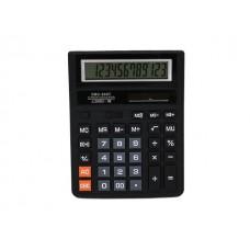 Калькулятор 12-разрядный Basir черный 20*15.5 см SDC 888T