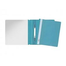 Скоросшиватель А5 голубой матовый Hatber AS5_00110