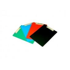 Планшет А4 пластик цветной Бюрократ PD6002
