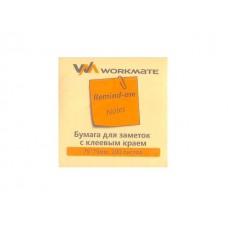 Стикер 75* 75мм 100л желтый WM 003000308