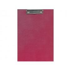 Планшет А4 бумвинил бордовый Имидж ХБ4-209