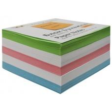 Блок бумажный цветной  90*90 мм 500л WM 003004400