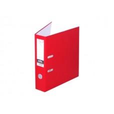 Регистратор  А4/80 Index красный с металлической окантовкой 8/24 PVC NEW КР