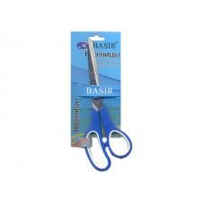 Ножницы 21.5 см прорезиненные ручки Basir МС-501
