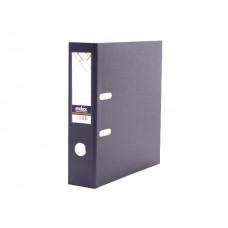 Регистратор  А4/80 Index серый с металлической окантовкой 8/24 PVC NEW СЕР