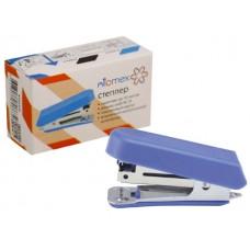 Степлер №10 12л мини пластик синий с антистеплером Attomex 4142315
