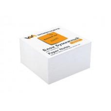 Блок бумажный белый  80*80 мм 400л WM 003003600