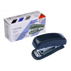 Степлер №10 12л мини пластик черный с антистеплером Attomex 4142318