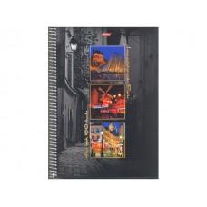 Книга канцелярская 160л спираль Краски Парижа 160Тт4B1сп_08932