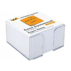 Блок бумажный в боксе белый 90*90мм 500л WM 003004300
