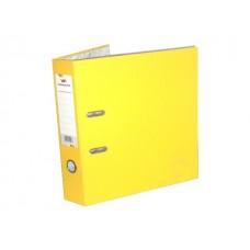 Регистратор  А4/80 WM желтый с металлической окантовкой 059001008