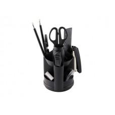 Органайзер 10 предметов Attomex вращающийся черный 4102314