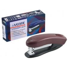 Степлер №10 10л пластик бордо с антистеплером Stripe DeVente 4142350