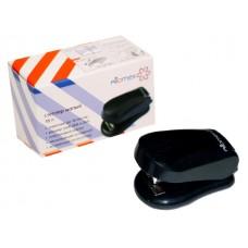 Степлер №24/6-26/6 16л мини пластик черный с антистеплером Attomex 4142304