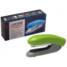Степлер №24/6-26/6 20л пластик неон зелёный DeVente 4142339