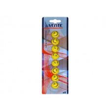 Магнит для досок D=20 мм  8 шт. Смайлы DeVente 6021500