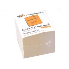 Блок бумажный белый  90*90 мм 900л WM газетка 003005700