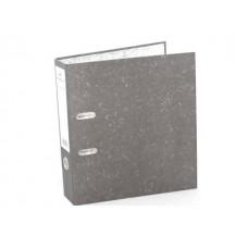 Регистратор  А4/80 WM черный мрамор 059000201