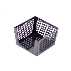 Бокс для бумаги 9*9*7 см DeVente Simple пластик сетка черный 4105502