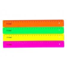 Линейка  25 см цветная Стамм ЛН21