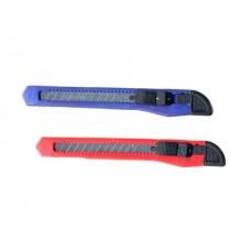 Нож канцелярский  9 мм WM ассорти 070000400