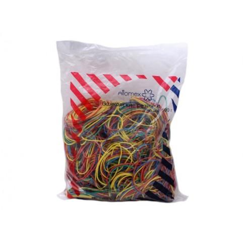 Резинки для денег  500г Attomex d=6см цветные 4152304