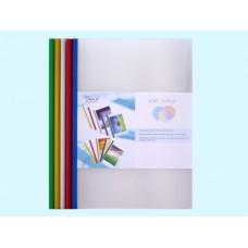Скоросшиватель с планкой А4 цветной на 30 л. Yalilai Q310-18с