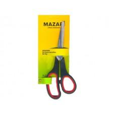 Ножницы 19.5 см прорезиненные ручки Mazari М-5603