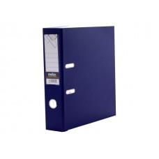 Регистратор  А4/80 Index темно-синий с металлической окантовкой 8/24 PVC NEW TC