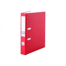 Регистратор  А4/50 Index красный с металлической окантовкой 5/30 PVC NEW КР