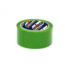 Скотч 48* 24м 45мкм зеленый Unibob 600 55751