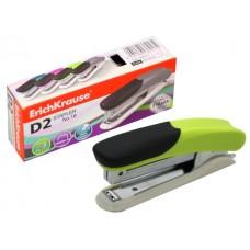 Степлер №10 20л пластик цветной с антистеплером D2 EK-36917