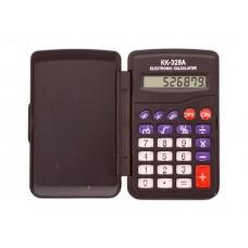 Калькулятор  8-разрядный Basir черный 10*6.5 см KK-328A