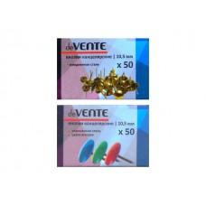 Кнопки  50шт 10.5мм цветные DeVente 4132404