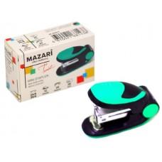 Степлер №24/6-26/6 12л мини пластик цветной Twist М-6907