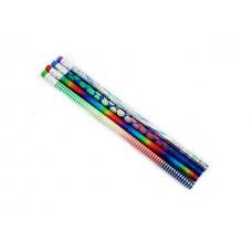 Карандаш HB Darlens Magic Stick круглый с ластиком незаточеный C10427 DL-DRL00063