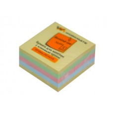 Стикер 50*50мм 250л 4 цвета WM 003001100