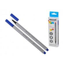 Линер 0.4 мм Fino синий трехгранный М-5300-70