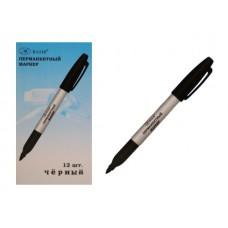 Маркер перманентный 9500 Basir черный круглый 2мм МС-9500