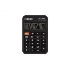 Калькулятор СITIZEN  8-разрядный черный 9*6 см LC-110NR