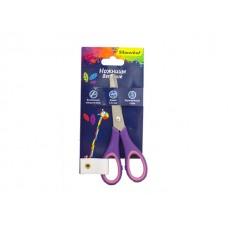 Ножницы детские 12.5 см прорезиненные ручки Silwerhof 453088