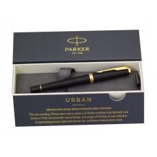 Ручка Parker роллер Urban Core черная 0.5мм черный матовый корпус 1931584
