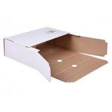 Папка архивная картон А4 10см белая 809772