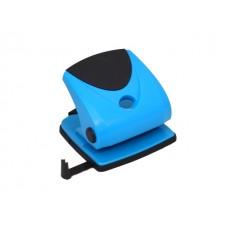 Дырокол на  30 листов пластик синий WM 062001802