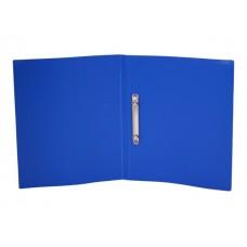 Папка 2 кольца А4 35мм d=25мм синяя Economy Бюрократ EC0418/2RBLUE