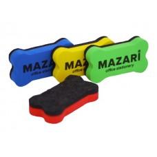 Губка для досок 10.2*5.6 см велюр цветная Bone Mazari M-6348